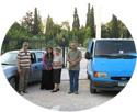 Επίσκεψη στους πρόσφυγες Αδελφούς μας στο Πεδίον του Άρεως