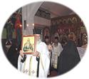 Χρονικό, Ἱερὰ Ἀγρυπνία πρὸς τιμὴν τοῦ Ἁγίου Φιλαρέτου τοῦ Ἐλεήμονος