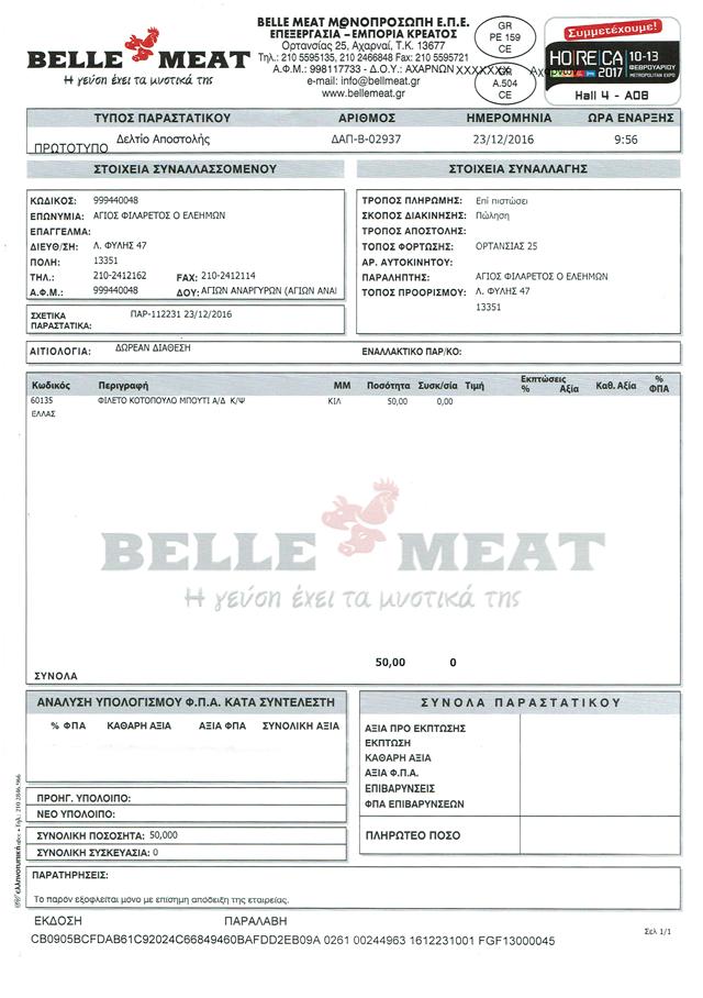 Belle Meat